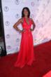 Robi Reed arrives in a beautiful red gown (photo credit: Arnold Turner / Reed For Hope Foundation)